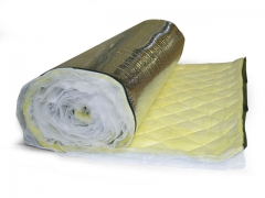 Acoustical Duct Wrap - Vinaflex Noise Barrier w/ Fiberglass Absorber/Decoupler (VP)